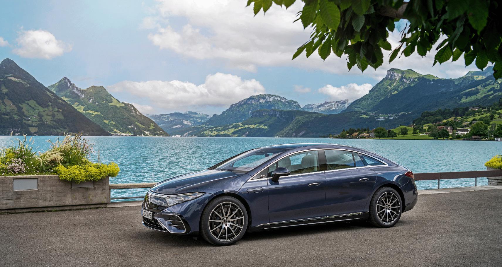 ercedes-Benz EQ recharge rapide