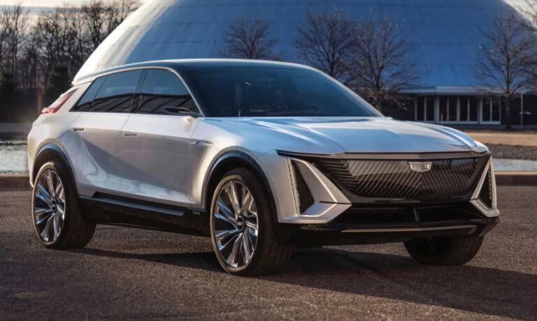 Cadillac Lyriq VUS 2022